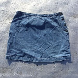 Vintage denim mini skirt! Size 11/12